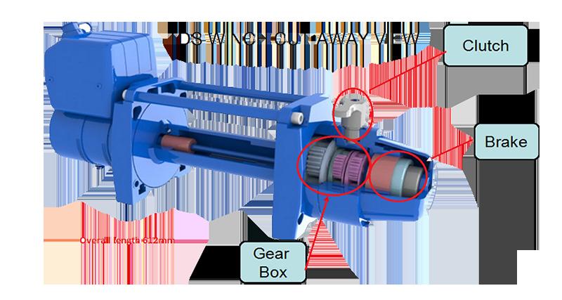 TDS Cutaway